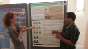 Sibaji Panda discusses subtractive numerals in village sign languages with iSLanDS associate Dr Connie de Vos