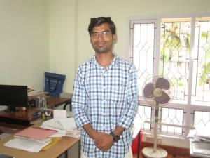 2013 graduate Babloo Kumar
