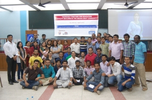 Over 40 of the workshop participants on 15 April at the Indian Social Institute on Lodhi Road in New Delhi, India