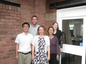 Project committee members (left to right) Kang-Suk Byun, Nick Palfreyman, Ulrike Zeshan, Josefina Safar and Jenny Webster