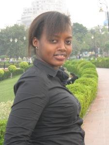 Graduate Cynthia Ndabazimvye