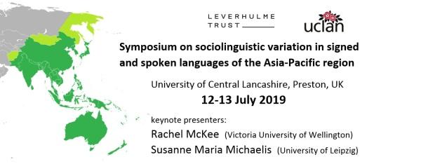 Symposium promotion